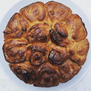 עוגת שמרים חגיגית לראש השנה