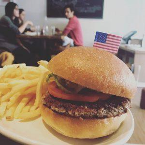 המבורגר טבעוני של דיוויד צ'אנג