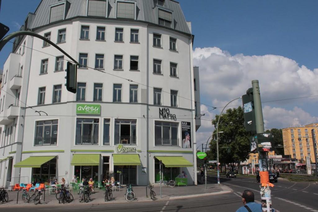 אחד מסניפי Veganz, הסופרמרקט הטבעוני של ברלין.