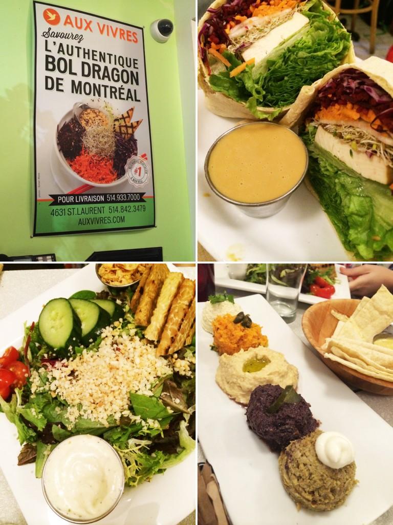 מסעדות טבעוניות במונטריאול. או ויוורה