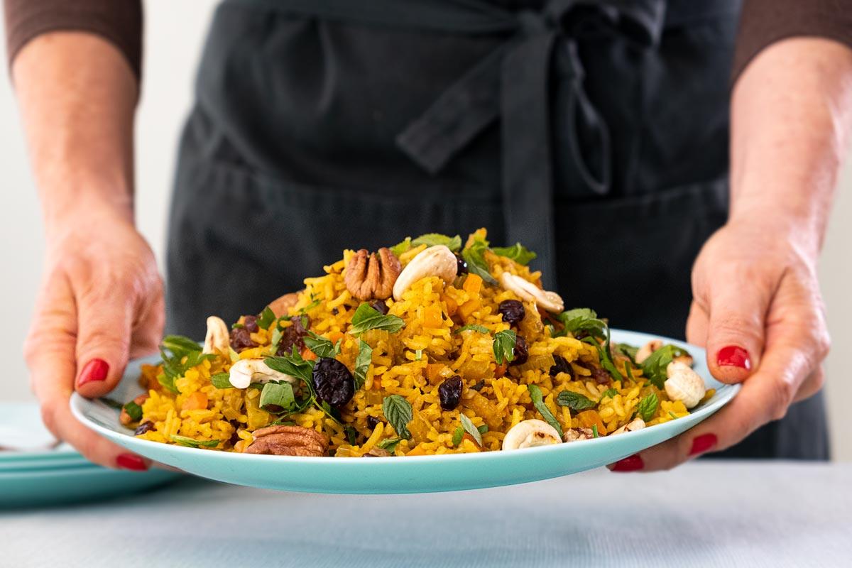 איך מכינים אורז חגיגי מושלם