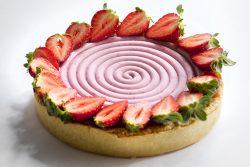 פאי תותים טבעוני במילוי פיננסייר