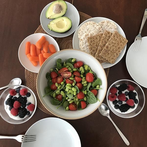 ארוחת בוקר טבעונית ביתית בלונדון