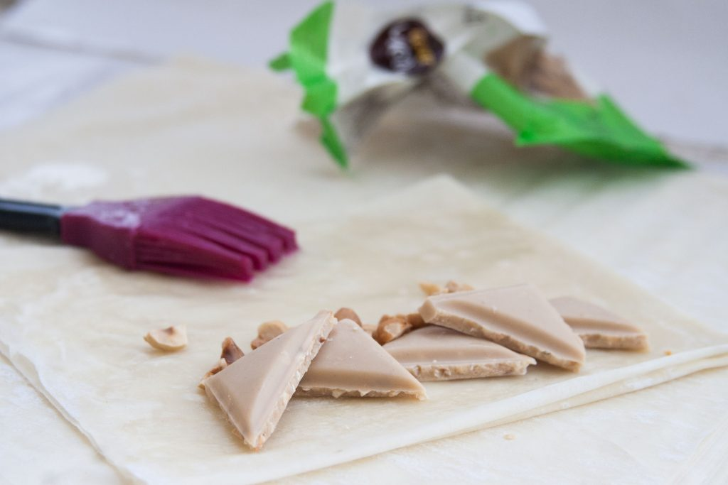 בצק, שוקולד ואגוזים - השילוב המושלם