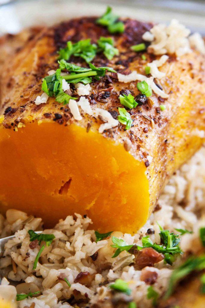 רוסט דלורית עם אורז מלא