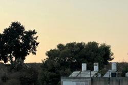 גבעת נפוליאון. הנוף מהמרפסת החדשה שלי