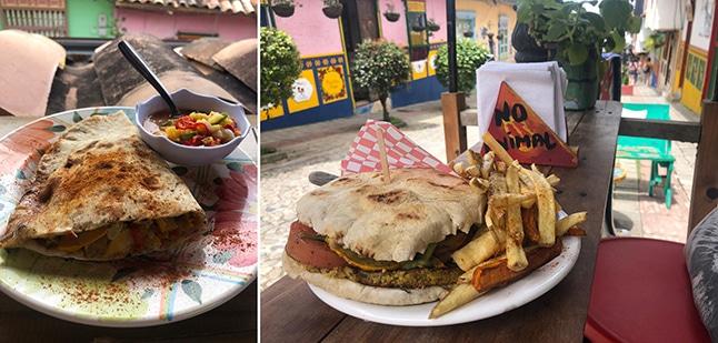 Namaste vegan express מסעדה בקולומביה