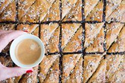 מתכון לבקלאווה טבעונית עם שוקולד וקפה