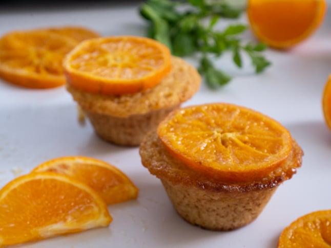 מאפינס קלמנטינות או תפוזים