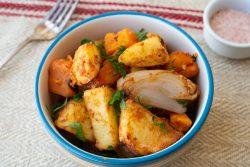 פאטאטס בראבאס: תפוחי אדמה ובטטות בסגנון ספרדי