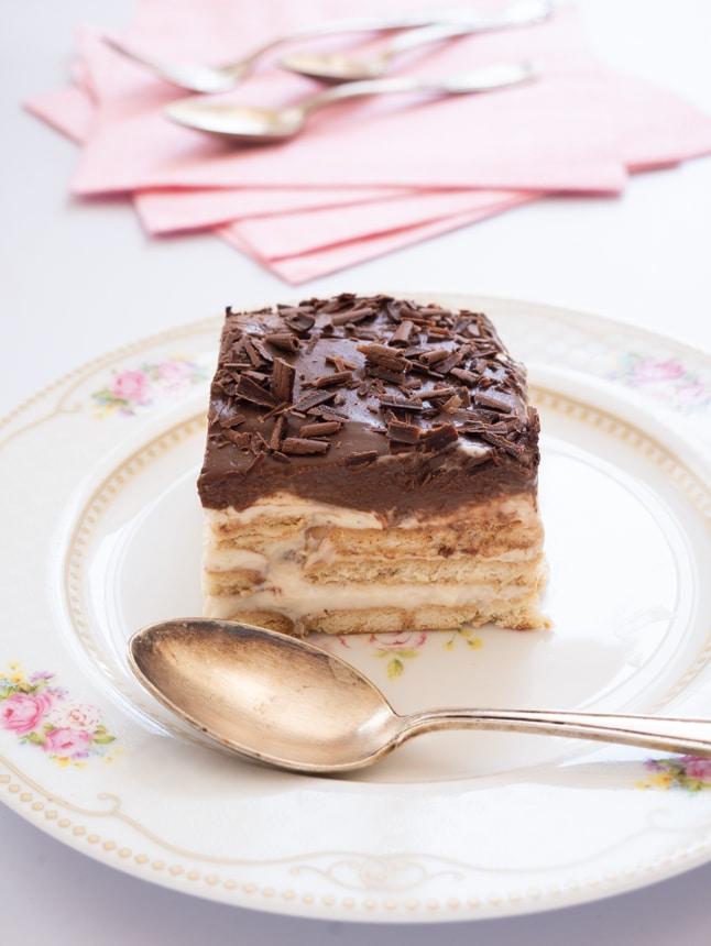 עוגת ביסקוויטים פרווה טבעונית
