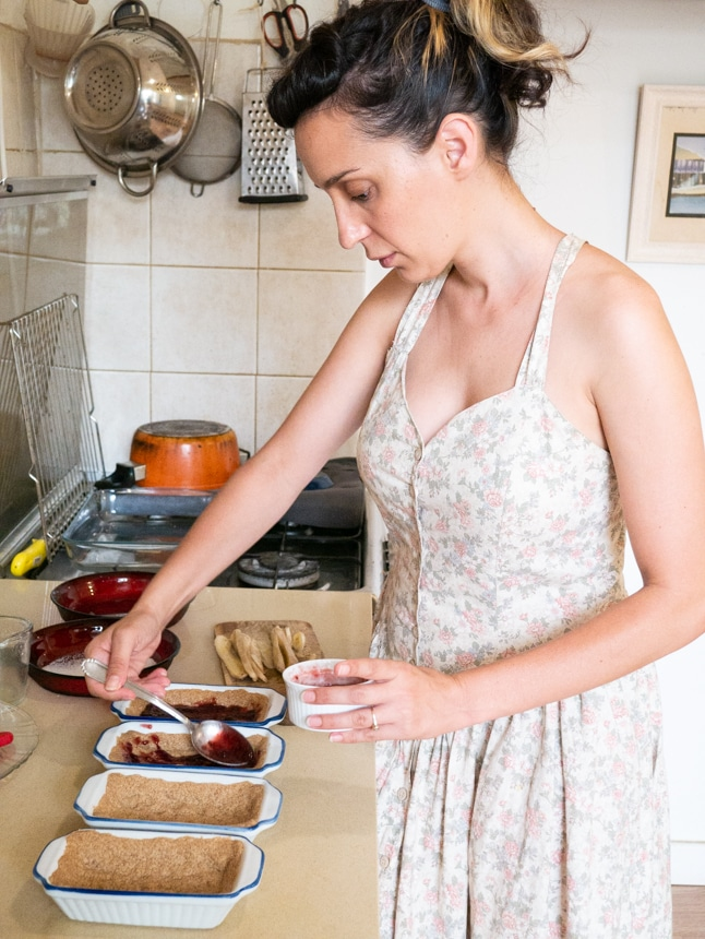 רוני דוט במטבח הביתי שלה