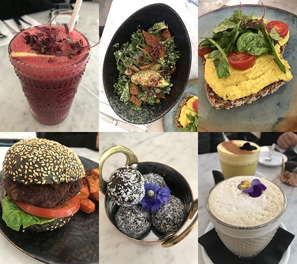 Redemption מסעדה טבעונית בריאה ללא גלוטן בלונדון