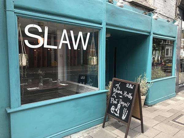 Slaw מסעדה טבעונית מעולה בלונדון