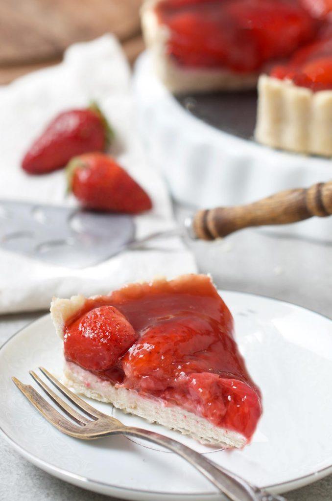 פאי תותים טבעוני