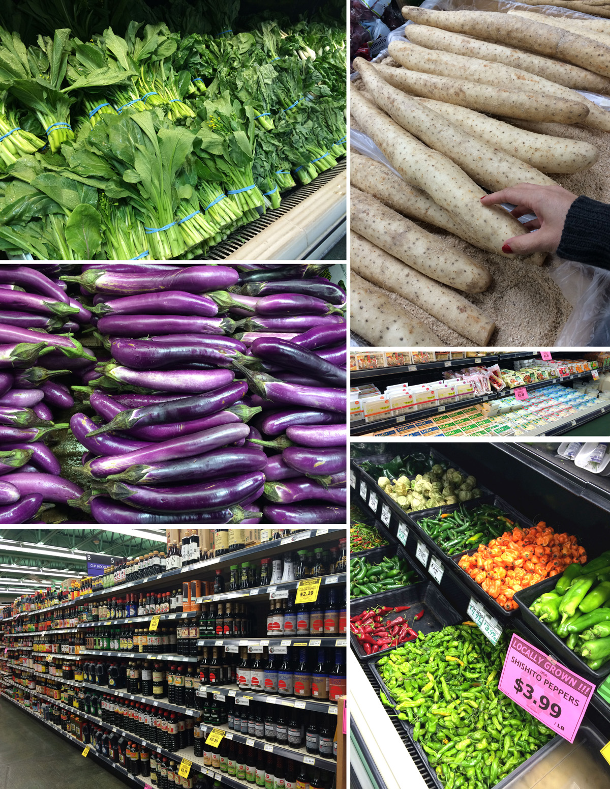 גן עדן לאוהבי אוכל טבעוניים. סופרמרקט אסייתי