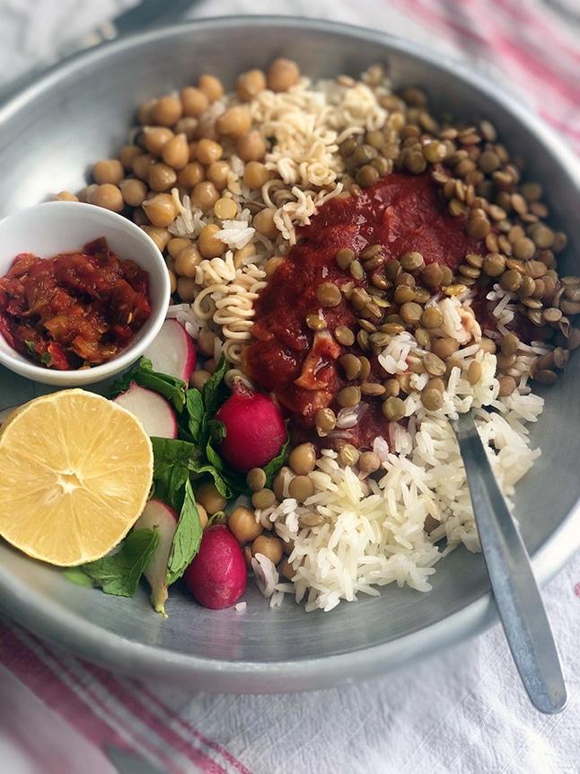 קושארי: אוכל רחוב מצרי
