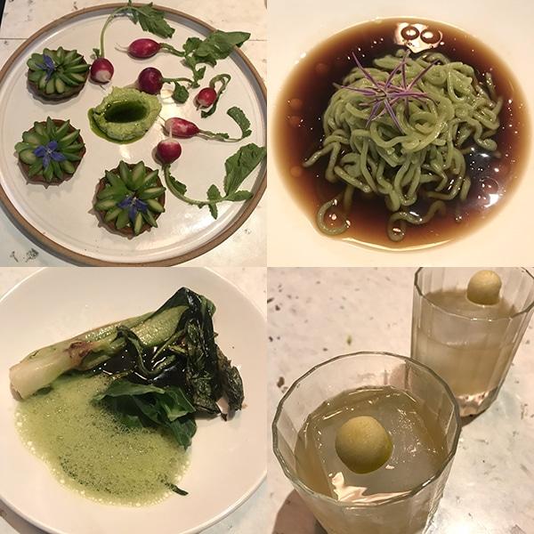 cub תפריט אוכל ואלכוהול טבעוני בלונדון