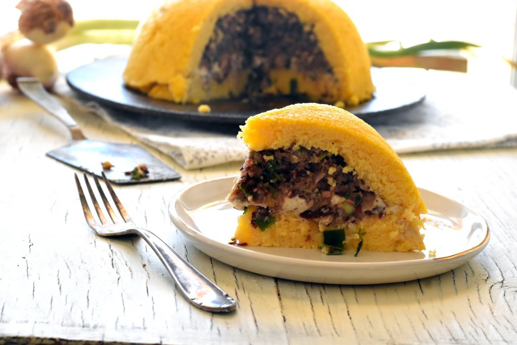 עוגת פולנטה טבעונית לפסח