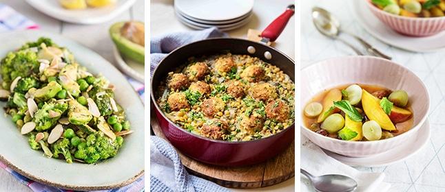 מנות טעימות ובריאות מתוך קורס בישול ותזונה