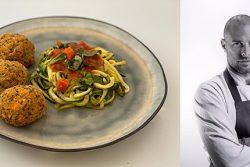 קציצות קינואה וספגטי זוקיני של יואב שוורד