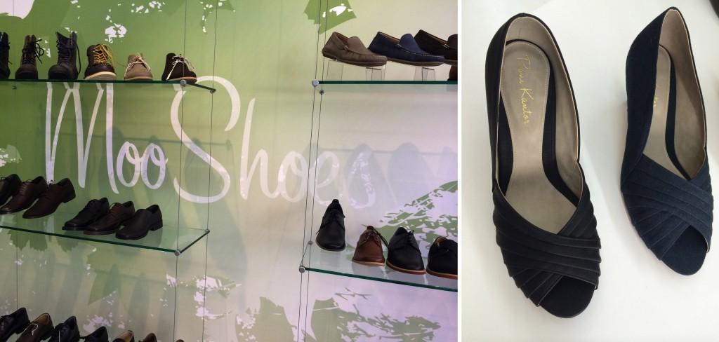 גם טבעוניות וגם טבעונים נהנים יותר בניו יורק. moo shoes