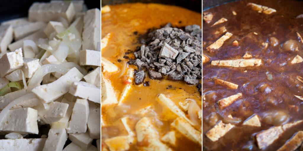 מתיקות השוקולד מתמוססת לתוך האש. העניין הוא הרוטב
