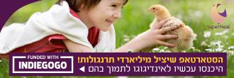 מיזם ישראלי לבשר עוף מתורבת