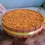 עוגת יומולדת לוטוס